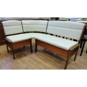 Кухонный угловой диван Этюд 3-1 с ящиком