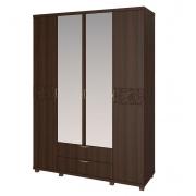 Шкаф для одежды 4-х дверный с ящиками Ирис-06