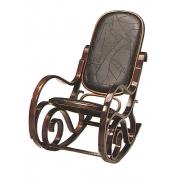 Кресло-качалка ARIVA-K1H кожа