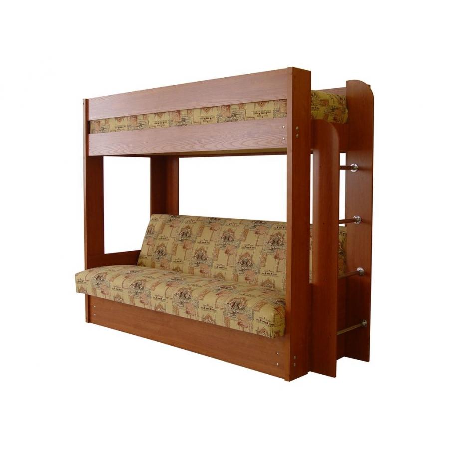 Двухъярусная Кровать С Диваном Москва