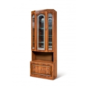 Шкаф для посуды с 2-мя ящиками (эркер) Азалия Н