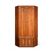 Шкаф для одежды угловой с тумбой Азалия Н