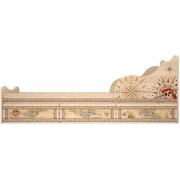 Кровать на 900 с ящиками (комплектация 1) Квест 5