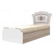 Кровать одинарная 90*200 см с латами Династия 23