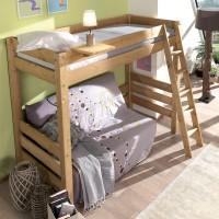 Кадет 5 кровать чердак массив сосны