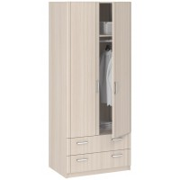 Шкаф 2-дверный с ящиками Лотос 8.024