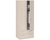 Шкаф 2-дверный с ящиками Лотос 8.023