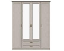 Шкаф 4-дверный с зеркалом Классика 7.16