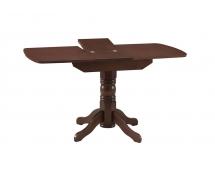 Стол обеденный раздвижной овальная крышка массив