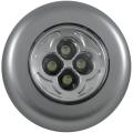Светильник светодиодный 67 мм (пушлайт крепится к гладкой поверхности благодаря сильному клеевому покрытию, не нагревается)