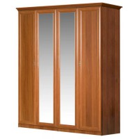 Шкаф 4-х створчатый с зеркалом Европа-7 071/151