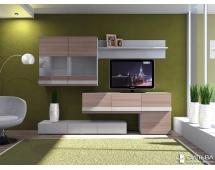 Шкаф комбинированный Лофт-2 НМ 013.09