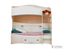 Кровать 2-х ярусная Прованс НМ 011.74