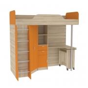 Ника 427 Т Кровать-чердак со столом