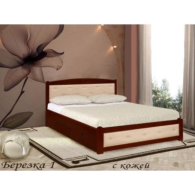 Кровать Березка 1 кожа