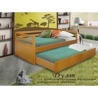 Кровать Дуэт массив