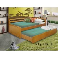 Кровать Дуэт массив 1