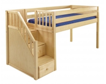 Кровать-чердак игровая Эльф