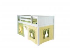 Кровать-чердак игровая Золушка