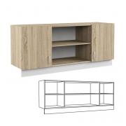 Шкаф навесной Линда 313 (1400)
