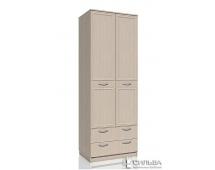 Шкаф для одежды с ящиками Браво НМ 013.02-03 М
