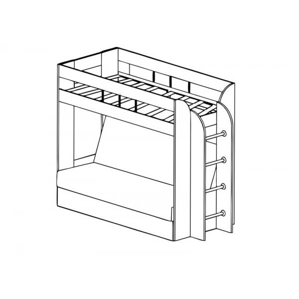 Кровать двухъярусная Немо (Архитектура)