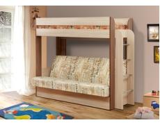 Кровать двухъярусная Немо (Газета)