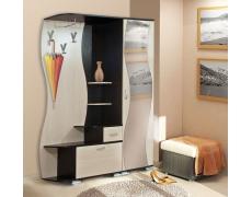 Прихожая Визит М10 + Шкаф для одежды Визит-М07