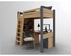 Кровать чердак Соло