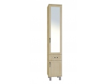 УМ-9 Шкаф комбинированный с зеркалом Уют