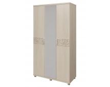 Шкаф для платья и белья 3-х дверный Ирис-09 бодега