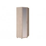 Шкаф угловой с зеркалом Ирис-27 бодега