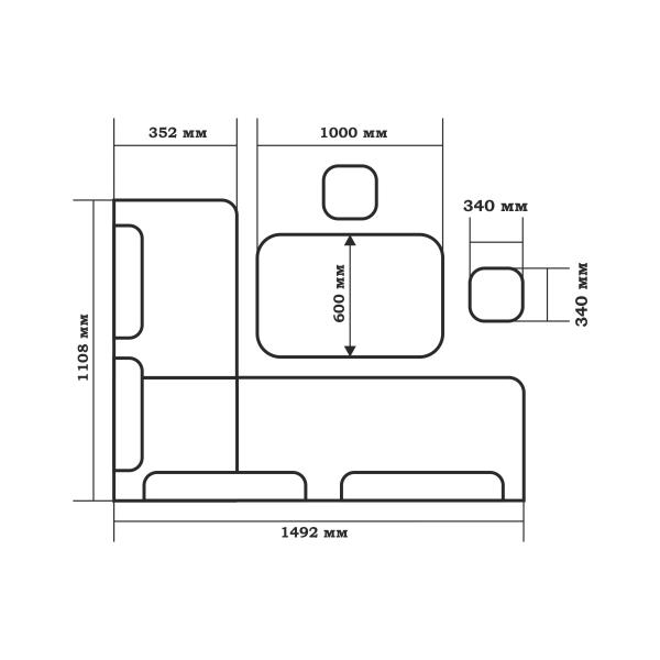 Кухонный набор Поло