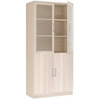 Шкаф 2-х дверный со стеклом Соло 20.21