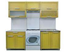 Кухня Симпл массив 2200