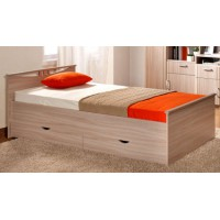 Кровать Мелисса 1600 (2 спинки+2 ящика)