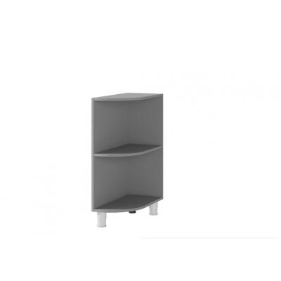 Шкаф угловой открытый напольный 3УР