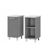 Шкаф-стол рабочий 1-дверный 4Р1