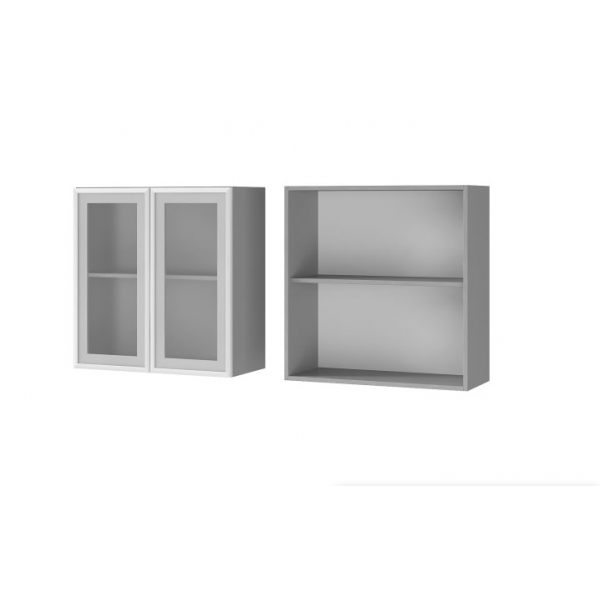 Шкаф настенный 1-дверный со стеклом 7В2
