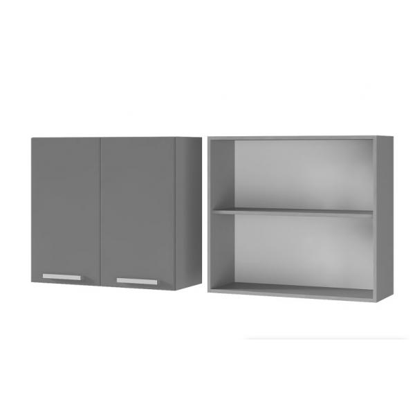 Шкаф настенный 2-дверный 8В1