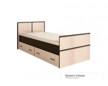 Кровать на 90 Сакура