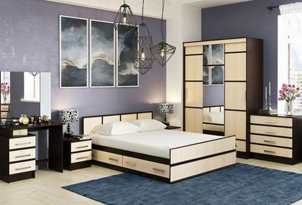 Спальня Сакура Компоновка 5