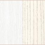 Белый структурный/Ясень патина