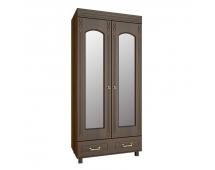 Шкаф платяной с зеркалом Элизабет ЭМ-16