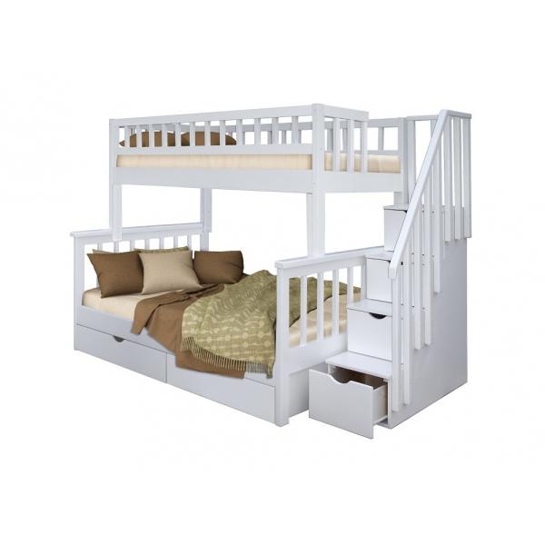 Двухъярусная кровать Этюд массив сосны