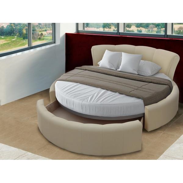 Кровать Анкара круглая с ящиком
