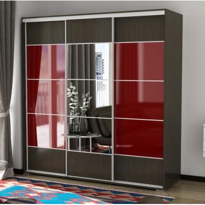 3 створчатый шкаф-купе с зеркалом Панорама-18