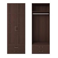 Шкаф для одежды 2-х дв. с ящиками Скандинавия-1