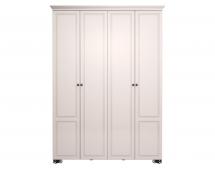 Шкаф для одежды Лукреция-1 с карнизом