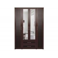 Шкаф для одежды с ящиками 4-х дверный Аргентина-1